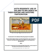North Dakota Residents' Use of Social Media and its Influence on their Hunting and Shooting Participation