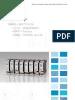 WEG Reles Temporizadores Protetores e de Nivel 50009830 Catalogo Portugues Br