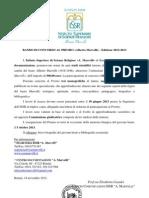"""Bando Concorso Premio """"A. Marvelli"""" 2012/2013"""