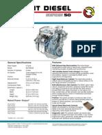 Series 50 Diesel Engine Transit Models