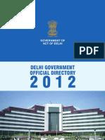 Delhi Government Telephone Directory 2012