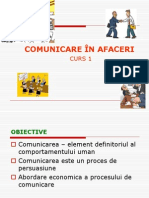 Comunicare in Afaceri