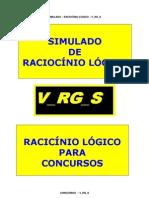 CONC-022 - SIMULADO Raciocinio Logico PARA CONCUSOS.pdf