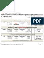 sf marin spring calendar - 2nd half