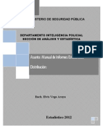 Manual Para Informes Estadisticos