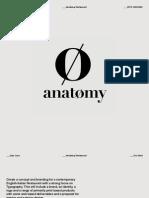 Anatomy Restaurant Presentation