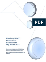 Habilitar PLDOC Dentro de La Herramienta SQLDEVELOPER