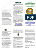 USF Army ROTC Brochure