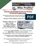 TIF Town Meeting Flyer