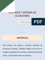 9.- Matrices Sistema de Ecuaciones
