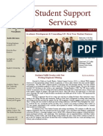 Student Support Services Newsletter