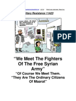 Military Resistance 11A23 The Citizens Of Maarat