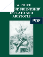 Love and friendship in plato and aristotle. Price A. W.