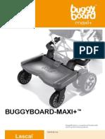 Buggy Board Maxi+ Owner Manual Dutch