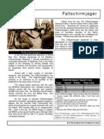 Early War Fallshirmjager Battleground WWII