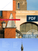 Johnson School Annual Report 2006-2007