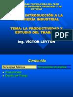 Productividad y Estudio Del Trabajo Leyton