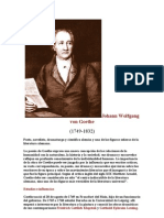 BIOGRAFIAS - Johann Wolfgang Von Goethe.DOC