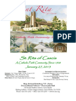 St. Rita Bulletin 1/27/2013