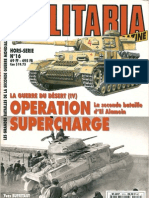 [Histoire & Collections] - [Armes Militaria HS 016] - La Guerre Du Desert (4)_Operation Supercharge, La Seconde Bataille d' El Alamein