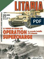 [Histoire & Collections] - [Armes Militaria HS 016] - La Guerre Du Desert (4)_Operation Supercharge, La Seconde Bataille d' El Alamein