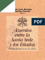 Acuerdos Entre La Santa Sede y Los Estados