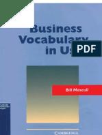 Bussiness Vocabulary