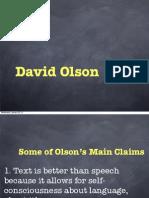 David Olson Slides