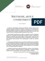 NIETZSCHE, ARTE E CONHECIMENTO