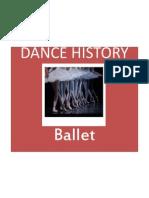 ballet dance history powerpoint