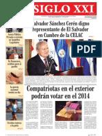Periodico del FMLN Enero 28 del 2013