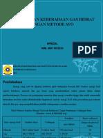 Slide Seminar Proposal Tugas Akhir Gas Hidrat