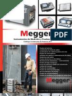 Megger Catalogo