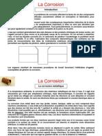 dossier corrosion