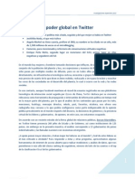 Las Voces Del Poder Global en Twitter