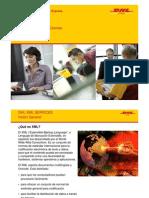 DHL XML PI Services External Presentation ES