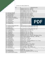 Listado de Medicamentos (1)