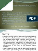 Pilipinas Shell Corp vs Dumlao