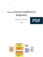 Autoimmune Conditions in Pregnancy