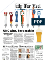 The Daily Tar Heel for January 29, 2013