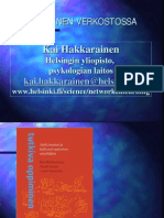Oppiva verkosto, Kai Hakkarainen, http://www.helsinki.fi/science/networkedlearning/fi/