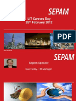 Careers Overseas With SEPAM Presentation
