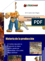 Historia de la Produccion