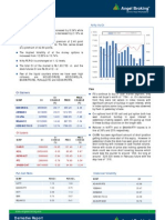 Derivatives Report, 29th January 2013