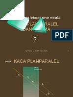 Prisma Dan Kaca Planparalel