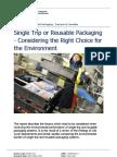 Reusable Packaging Factors Report