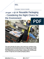 Reusable Packaging Factors Report