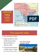 Pre-Colonial India 1206-1707