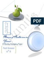 Presence of oxalate ions in Guava Chemistry Investigatory Project