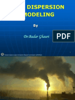 Dispersion Modelling Quetta